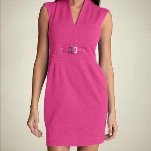 Trina Turk Pink Astra Ponte Dress NWOT